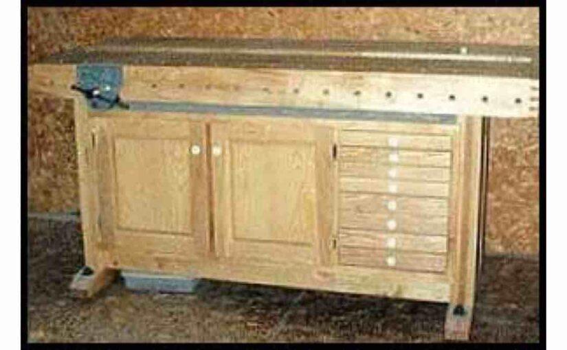 Woodworker Workbench by Bob Hamilton