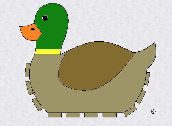 Build your own duck basket.