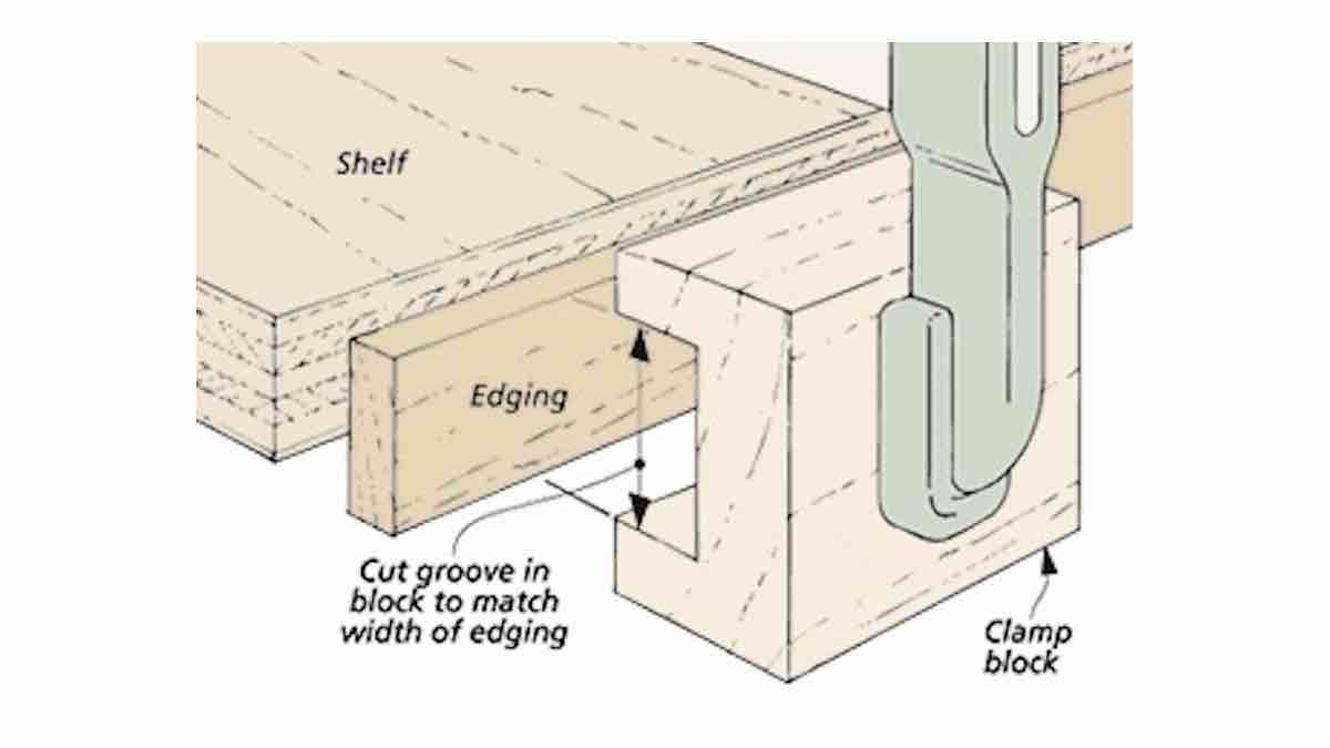 How to use a Solid Wood Edge Banding Jig