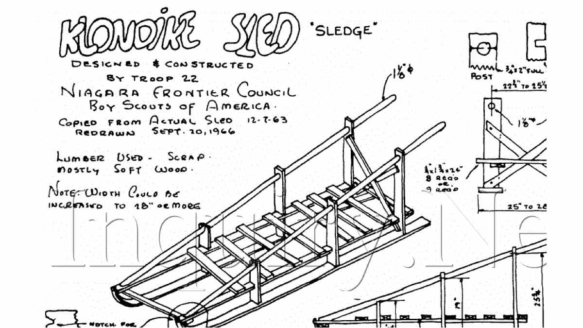 free woodworking plans,sleds,sleighs,toboggans
