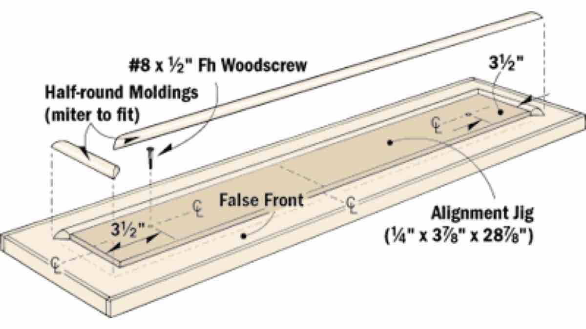 How to build a Molding Alignment Jig