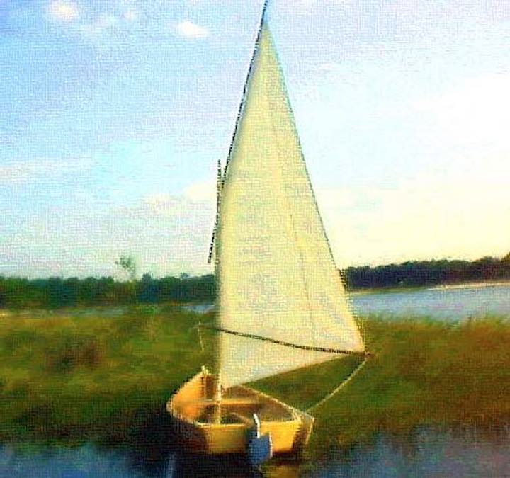 Build a Summer Breeze Sail Boat with free plans.
