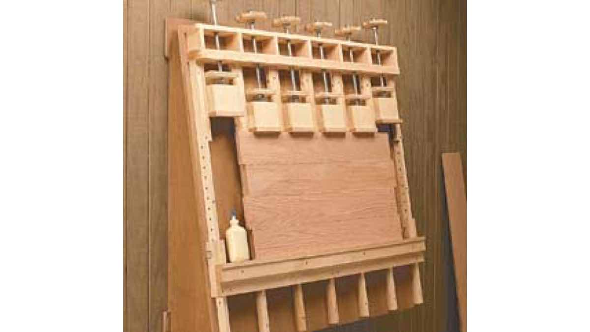 free woodworking plans, projects, clamps, racks