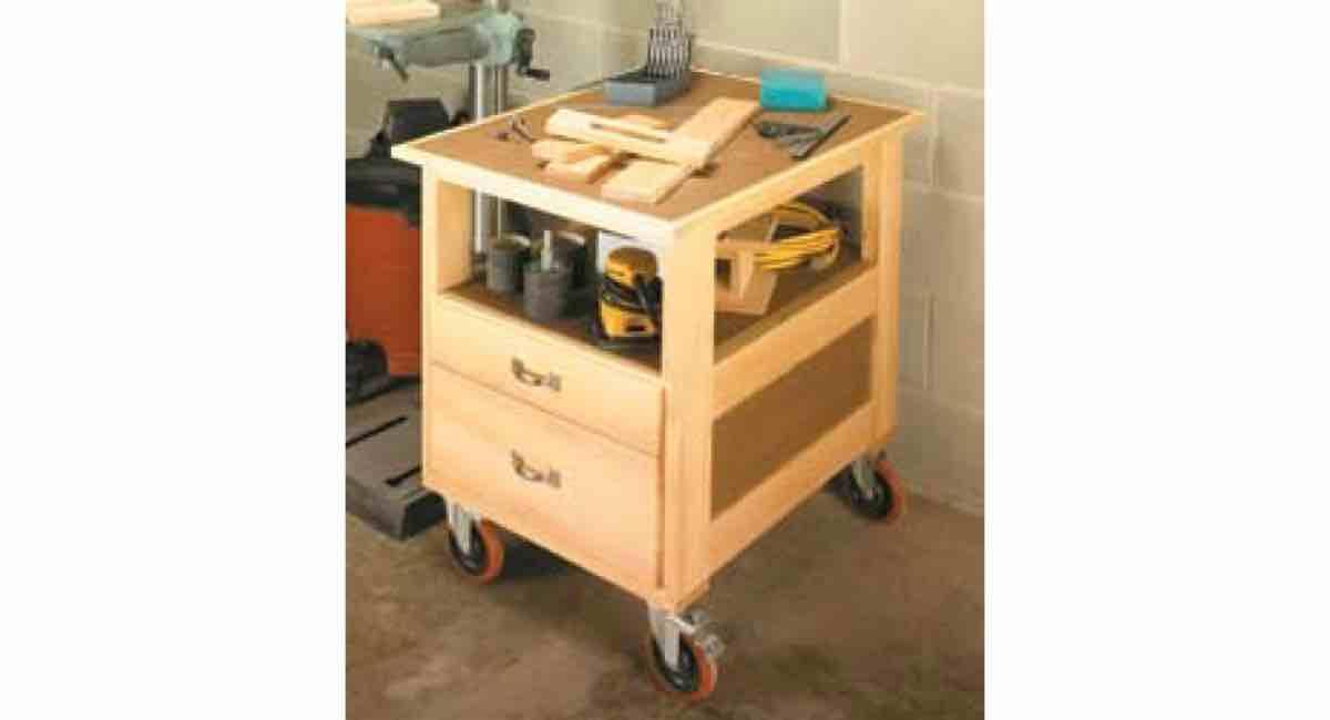 Roll Around Shop Tool Cart PDF