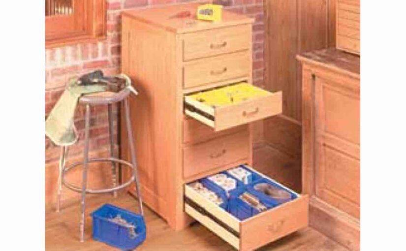 Hardware Storage Workshop Cabinet