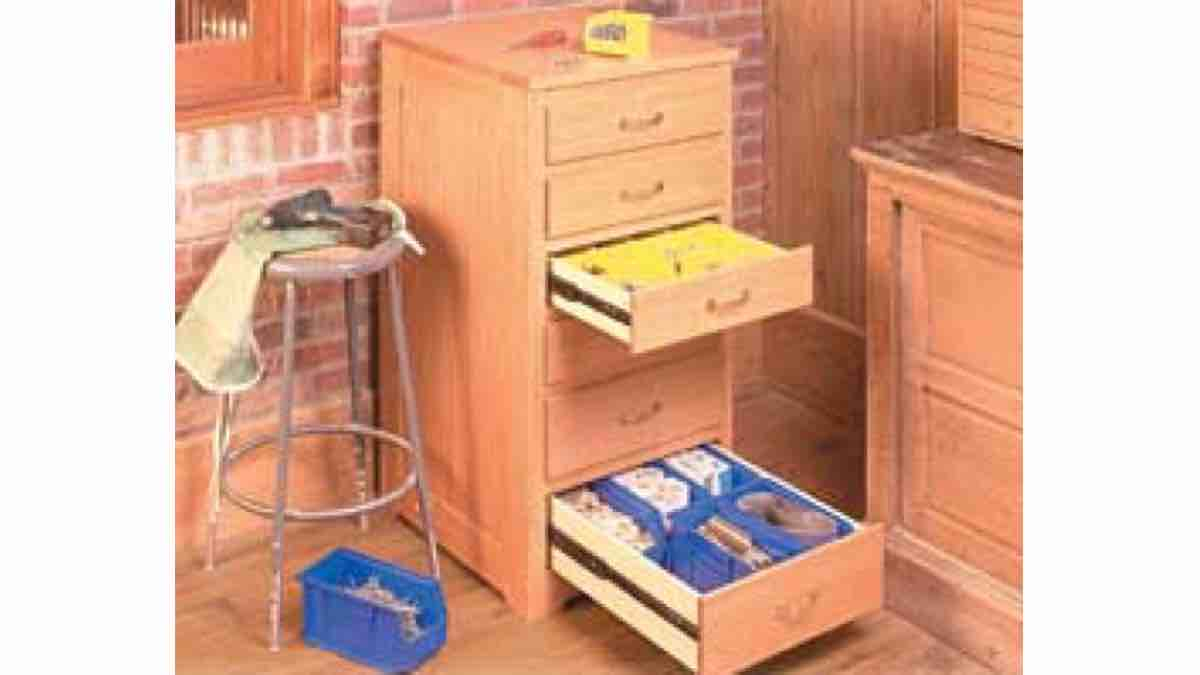 How to build a Hardware Storage Workshop Cabinet free project