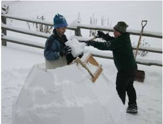 Free plans to build an Igloo Building Tool