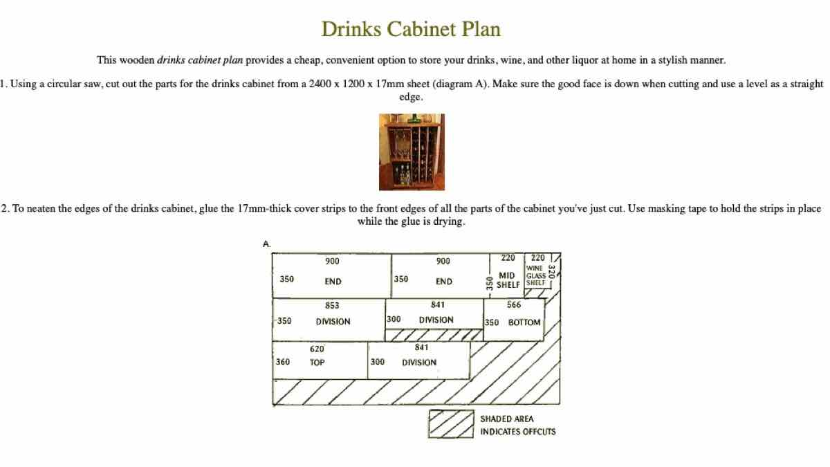 free woodworking plans,wine bar,wine cabinet