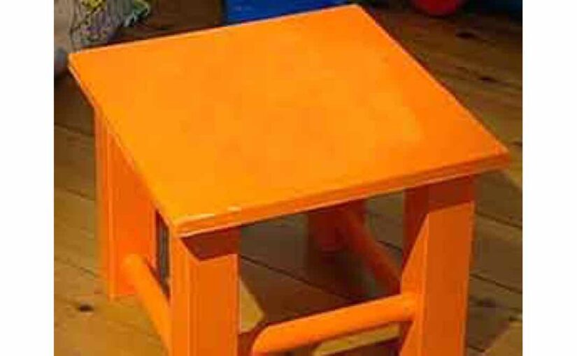 free woodworking plans, projects, seating, stools
