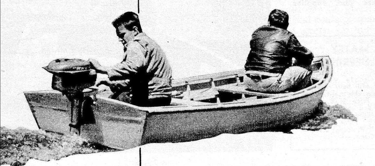 Free plans to build a Chessy Boat