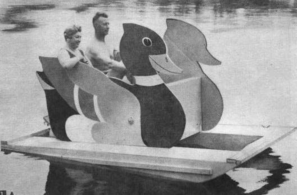 Free plans to build a Marty Novelty Boat.