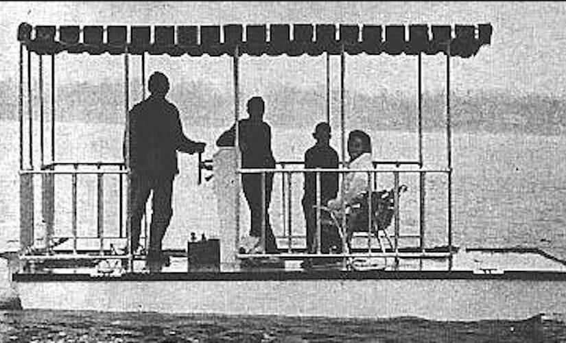 Platform House Boat
