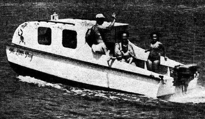 Cabin Cruiser Sun Fish Boat