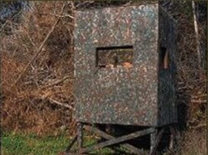 Build a Portable Shooting House using free plans.