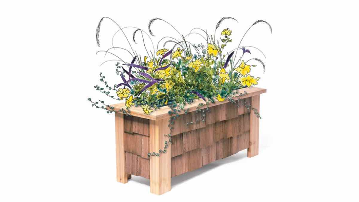 free woodworking plans, projects, outdoors, planter boxes