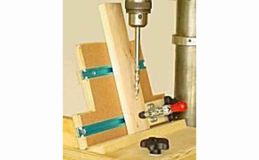 How to build a Drill Press Pocket Hole Jig