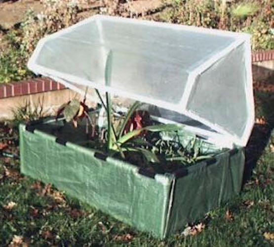 Learn how to build a PVC Cold Frame using free plans.
