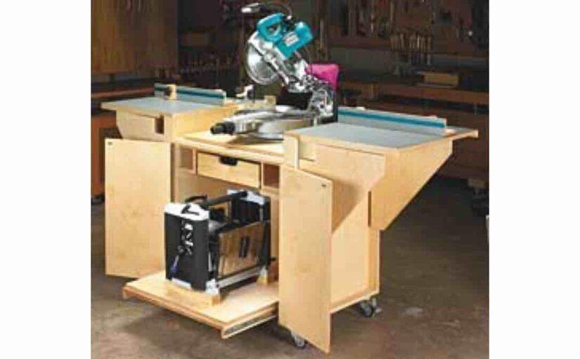 Dual Tool Work Station