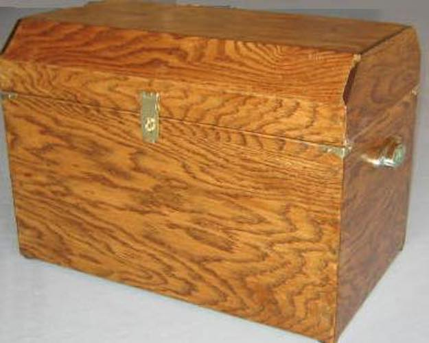 Build a Treasure Chest using free plans.