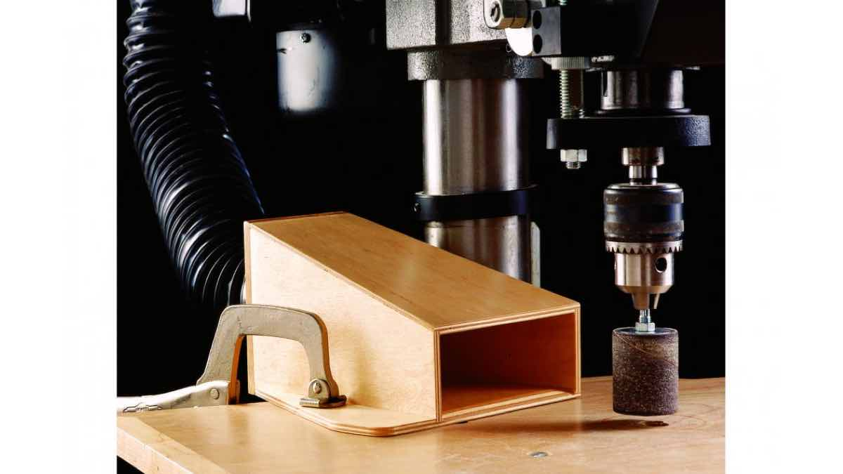 drill presses,dust collecting,collection,free woodworking plans,projects