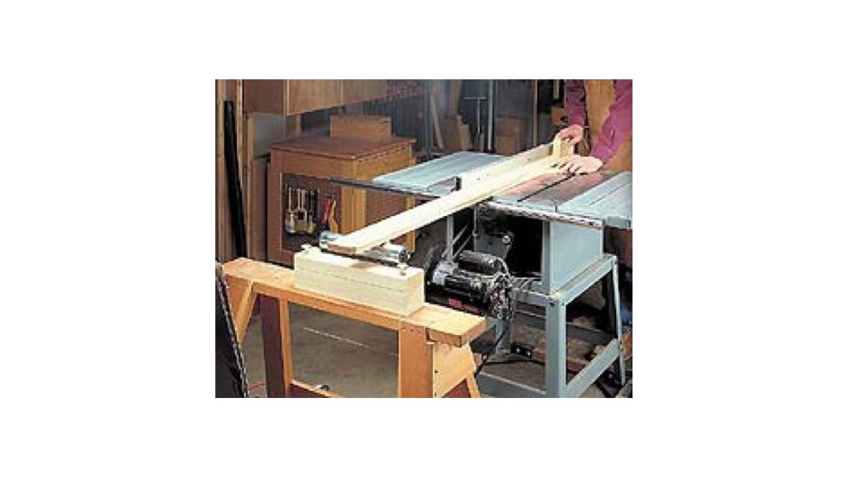 How to Build a Sawhorse Roller Stand.