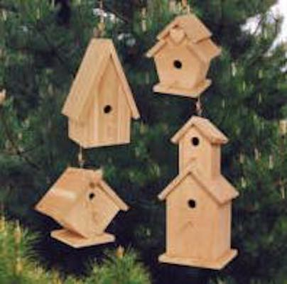 Build a Birdhouse from Scrap Wood and free plans.