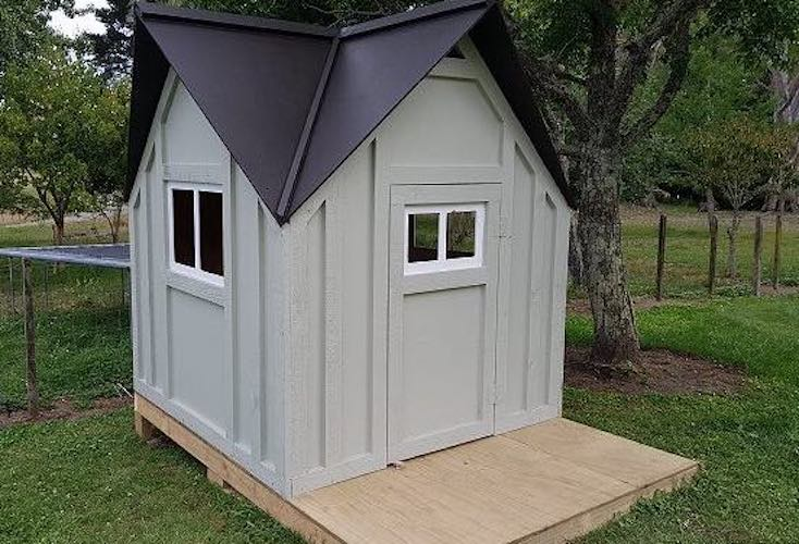 Free plans to build a Play Cottage.