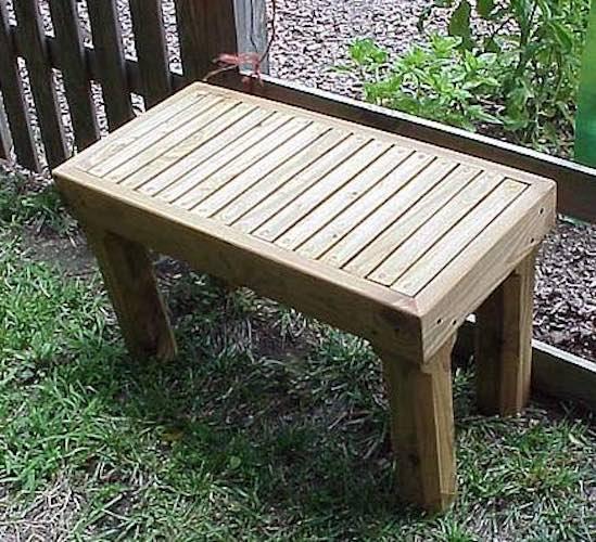 Build a simple Garden Bench.