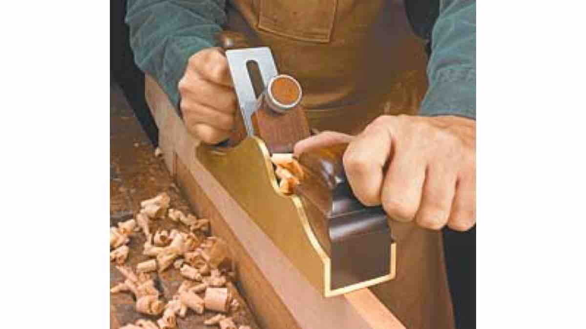 Free Woodworking Brass Body Plane Pattern PDF plans.