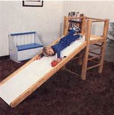 Build a Play Gym Indoor using free plans.