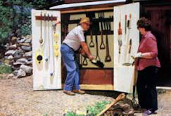 Garden Add-On Tool Shed