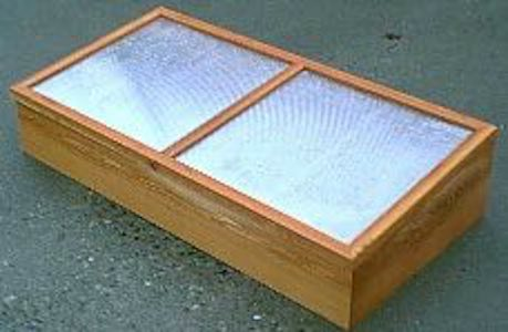 Free plans to build a Cold Frame For Spring Planting.