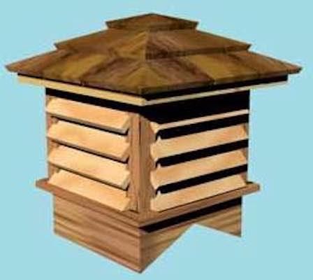 Free plans to build a Wheelhouse Cupola.