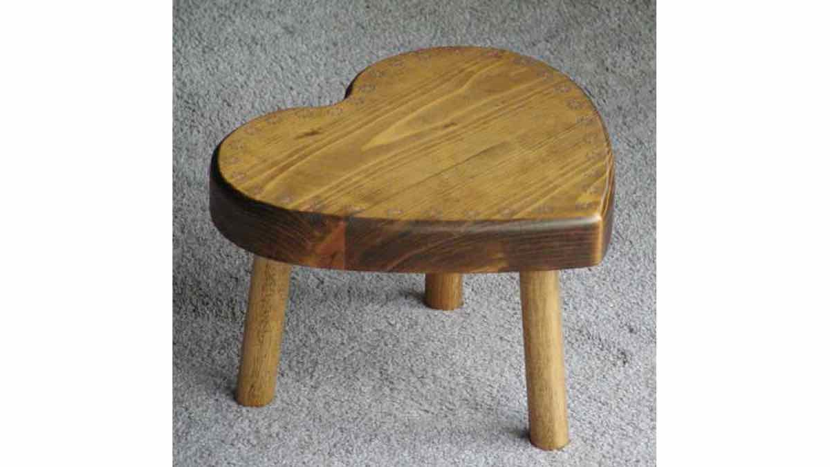 free woodworking plans, projects, 3 legged stools
