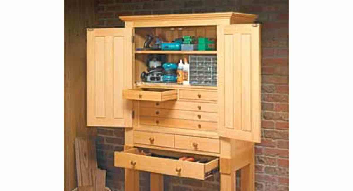 Free PDF Woodworking Plans to Build a Heirloom Tool Cabinet