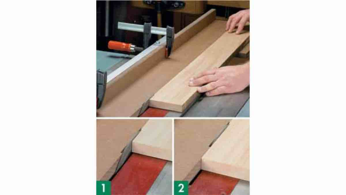 How to build a Tablesaw Jointing Jig