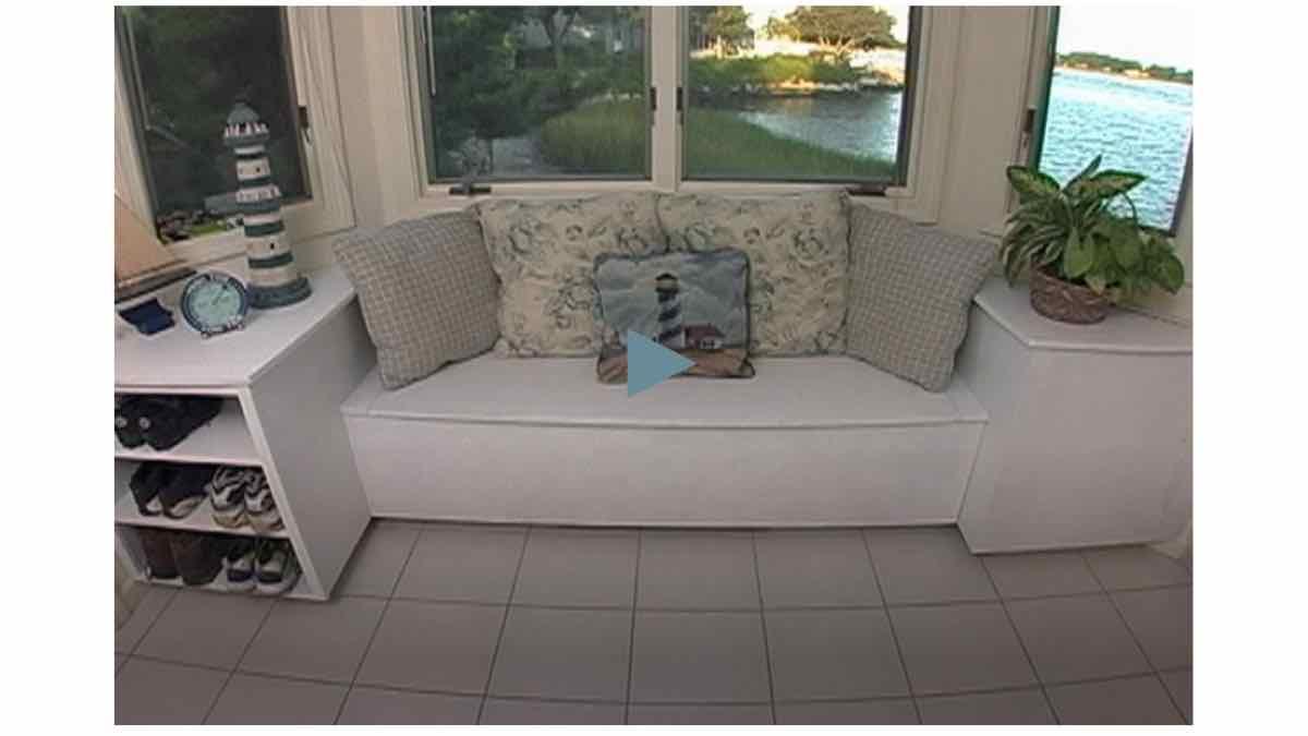 free woodworking plans,window seats,DIY