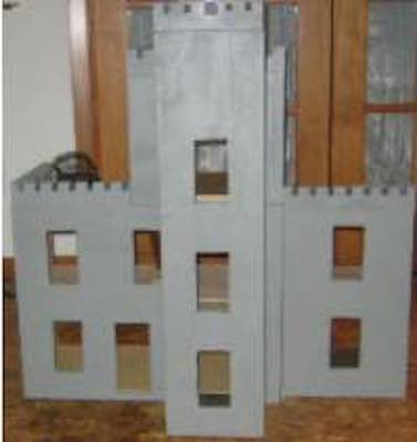 Build a Castle Dollhouse using free plans.