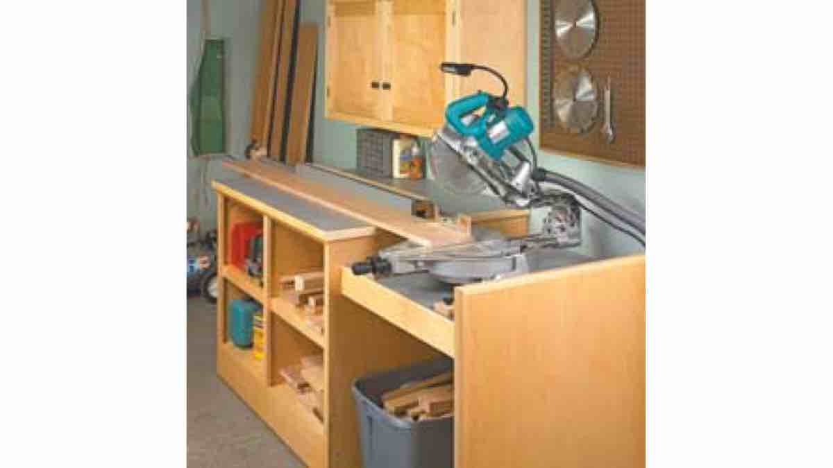 How to build a Mitersaw Work Center free project