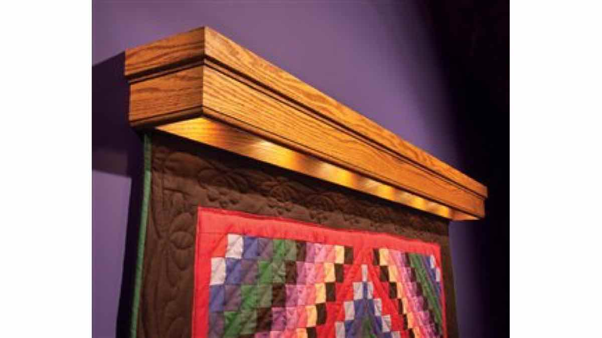 free woodworking plans, projects, quilt racks
