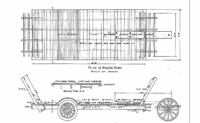4 Wheel Low Wagon Flatbed PDF
