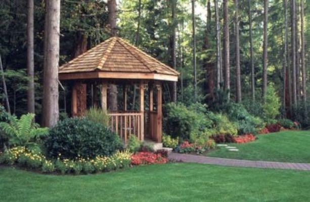 Free plans to build your own Backyard Gazebo.