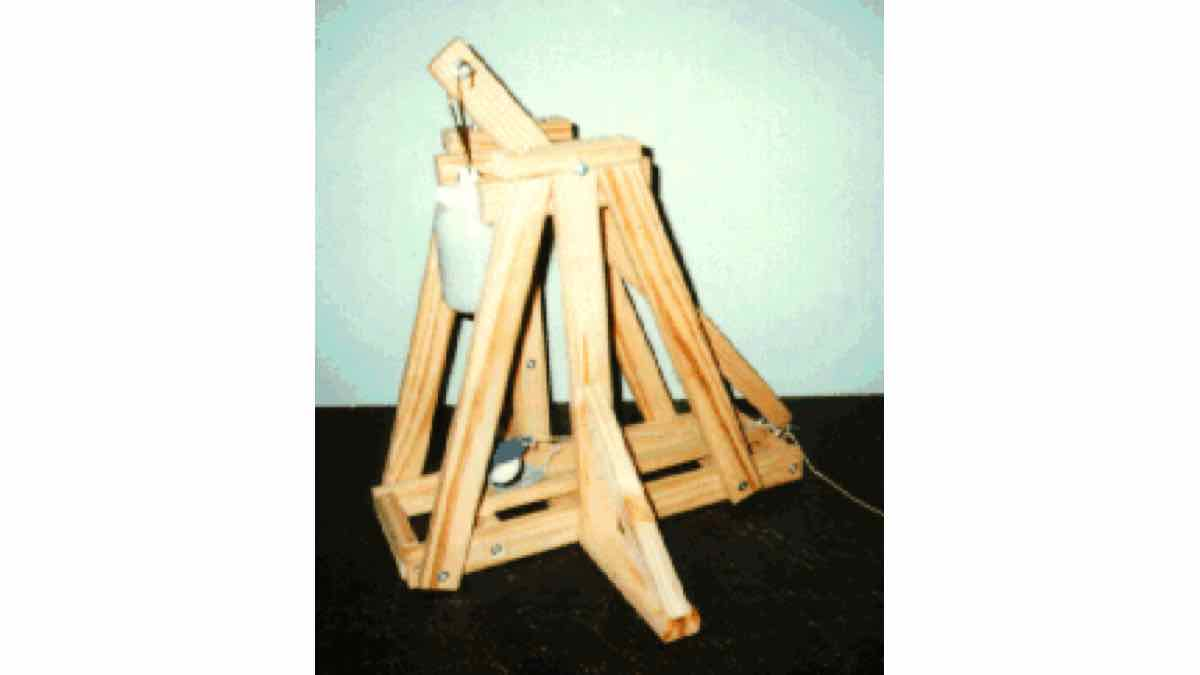 free woodworking plans,trebuchet,how to build,diy