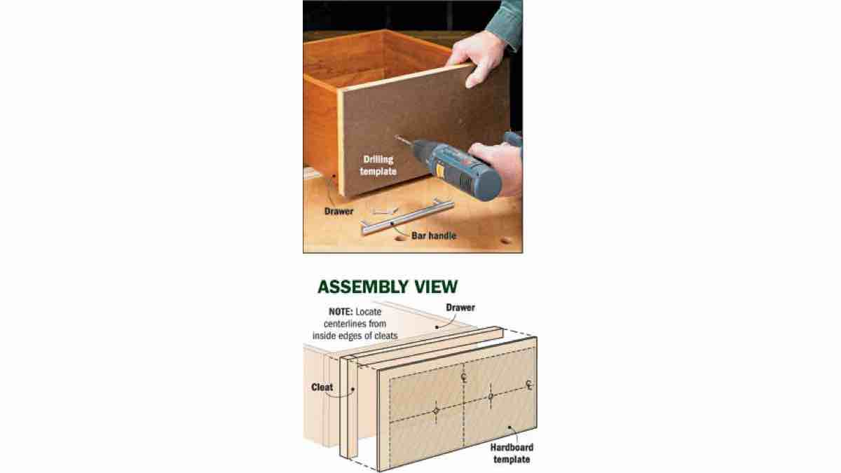 How to build a Drilling Template Jig