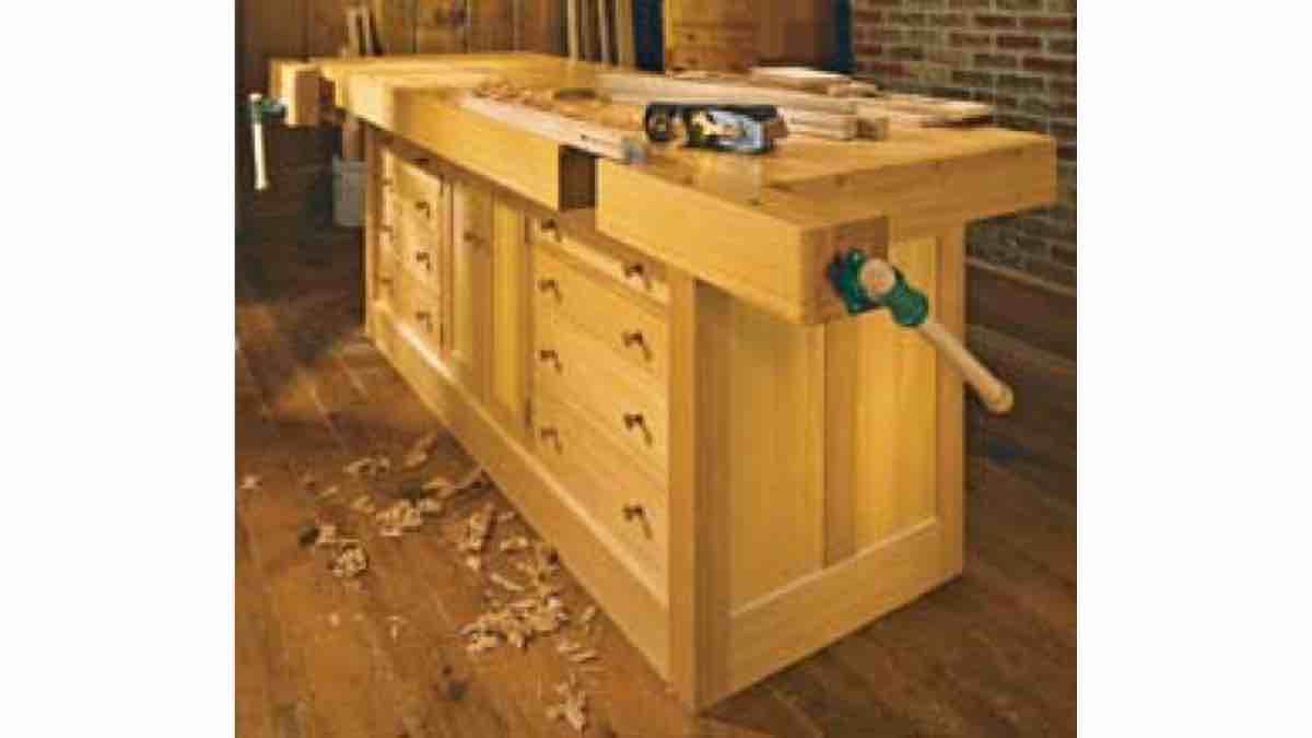 How to build a Classic Cabinet Base Workbench