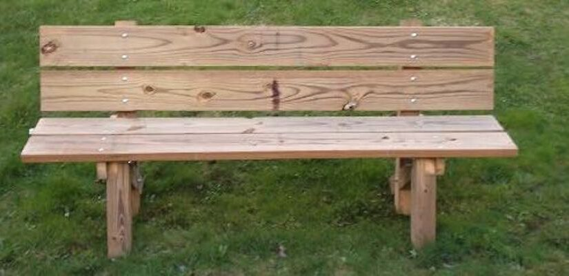 Free plans to build a Garden Bench