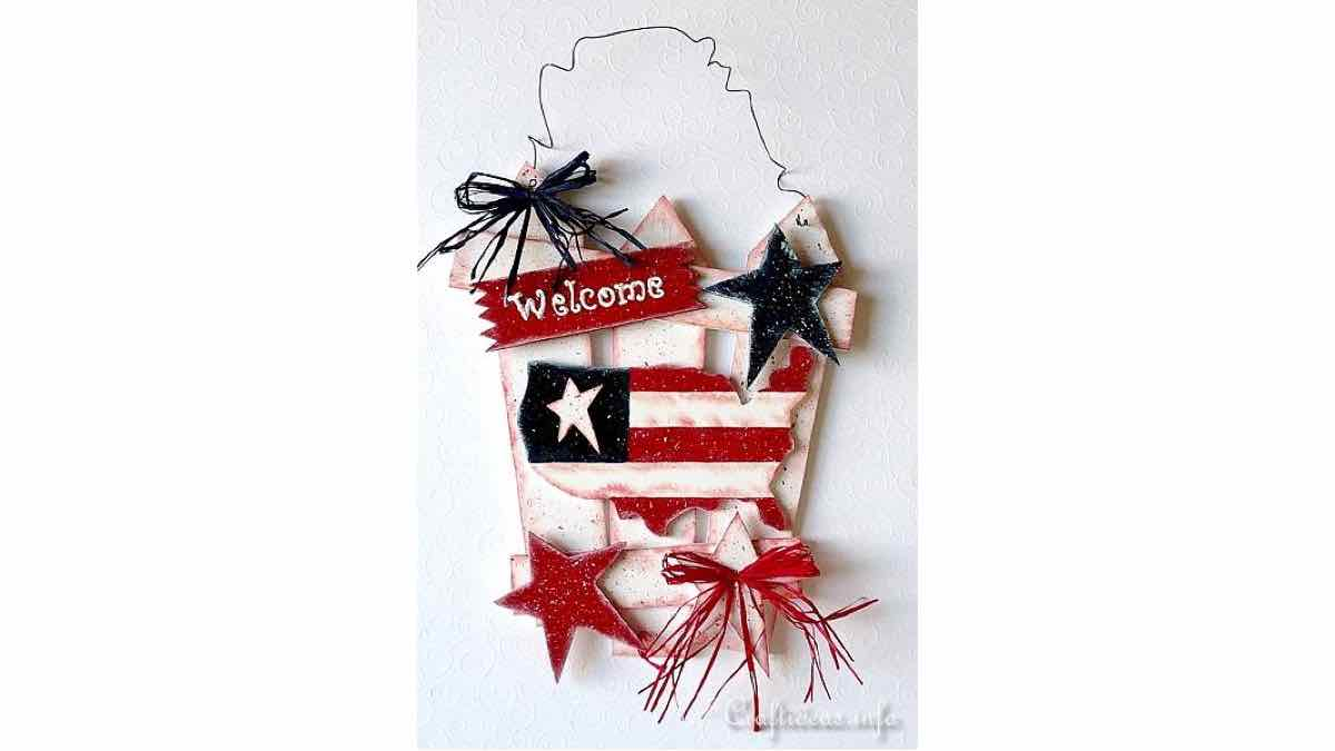 patriotic,american,usa,signs,welcome,wooden,scrollsaw,instructions,do it yourself,free woodworking plans,woodworkers projects,plans for how to build