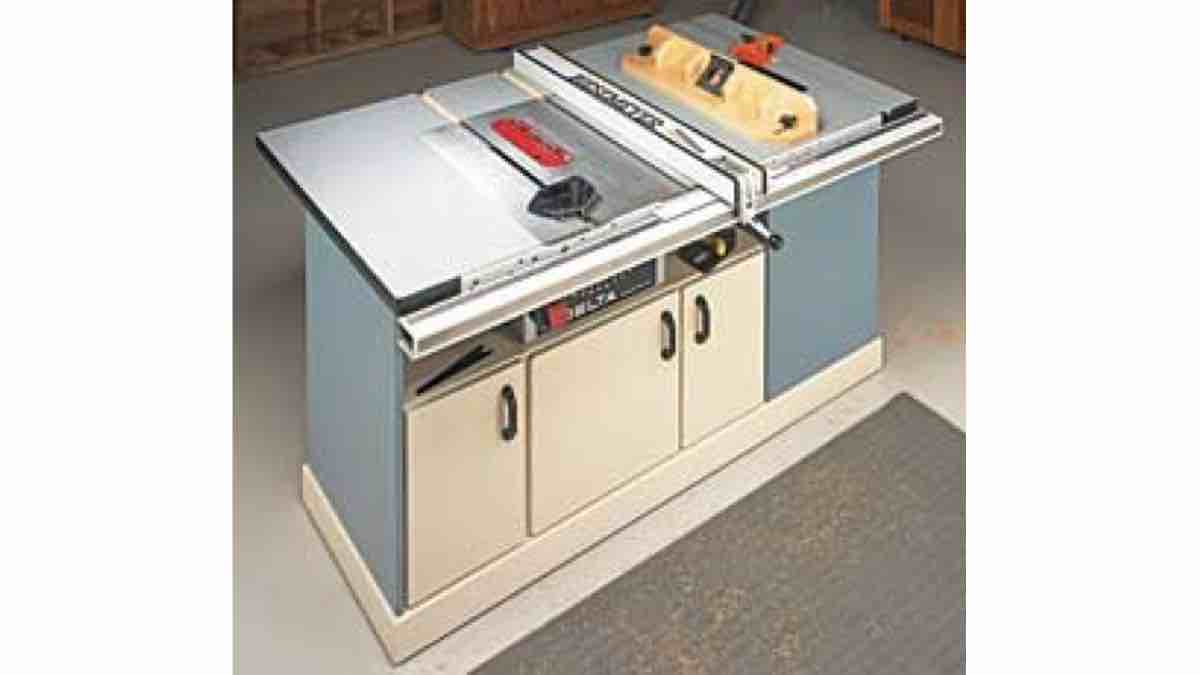 How to build a Table Saw Workcenter