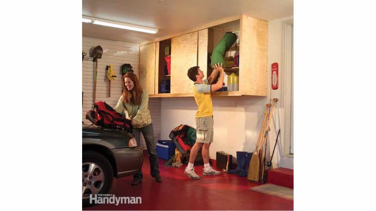 garage storage,workshop cabinets,how to build,DIY,ReaadersDigest,free woodworking plans, projects
