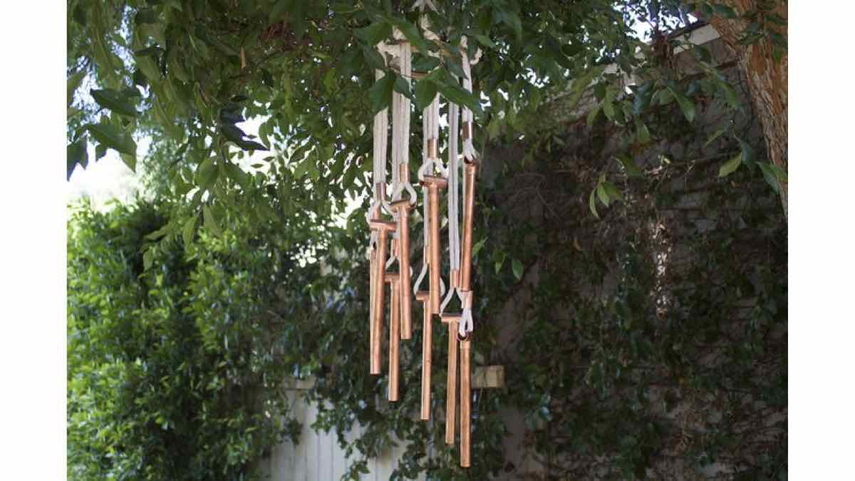 wind chimes, building instructions, how to make, free woodworking plans